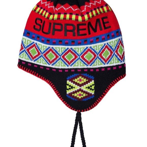 020a77671d3 Supreme Nepali earflap beanie